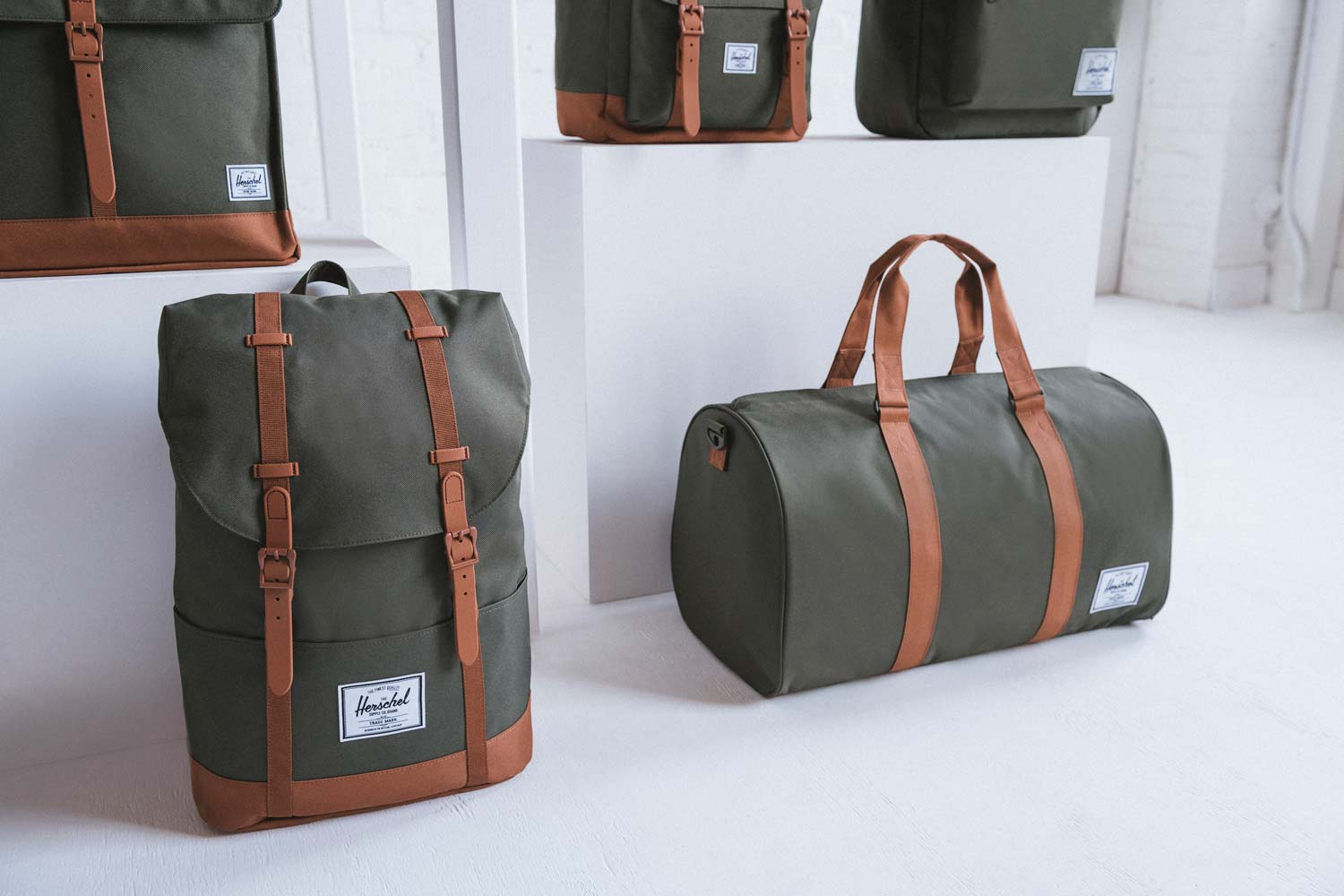 Herschel Debuts Bag Collection Made From Recycled Materials